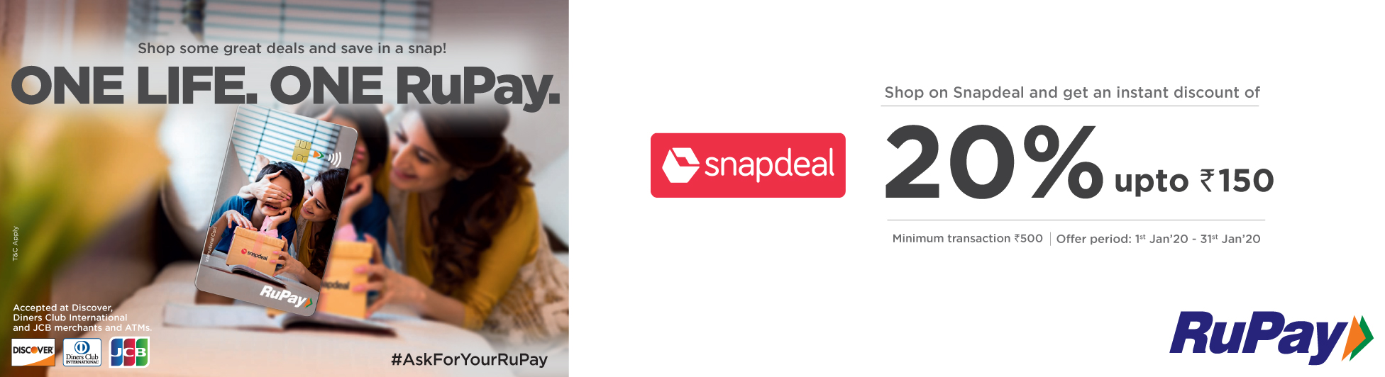 Snapdeal-Rupay